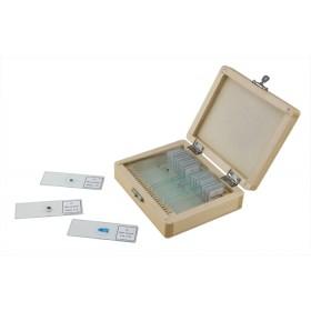 Objektträger mit 25 fertigen Präparaten für Mikroskope