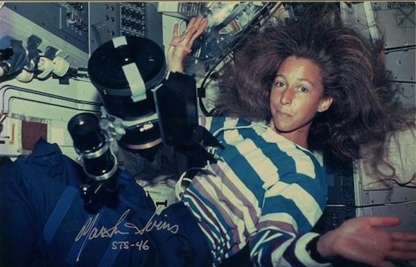 Anwendung: ein C5 an Bord des Spaceshuttles Atlantis
