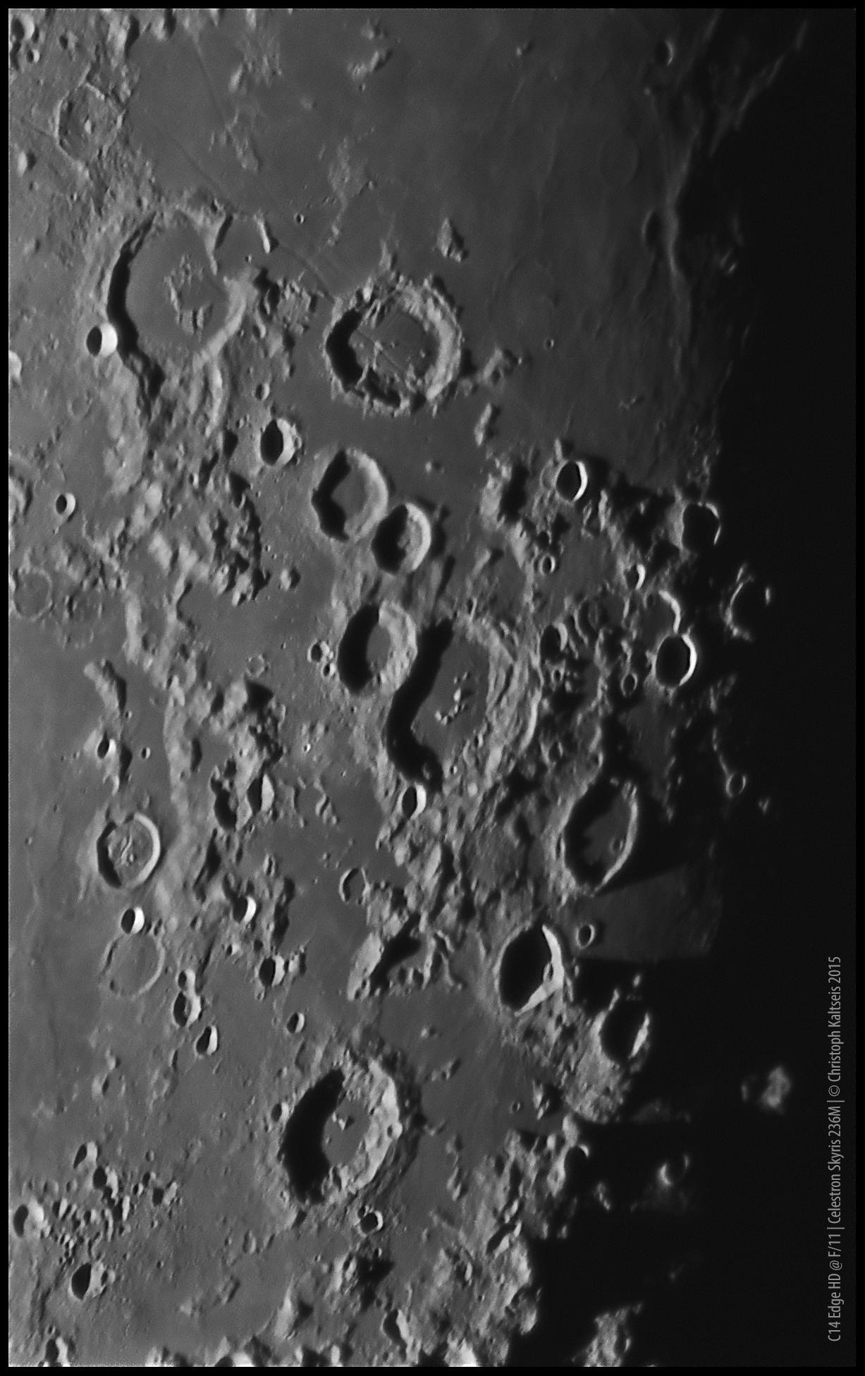 Anwendung: Mond mit C14 EdgeHD und Skyris 236M