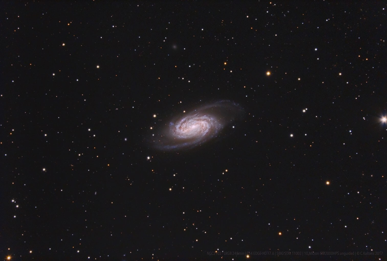 Anwendung: NGC 2903 mit C14 EdgeHD - Christoph Kaltseis