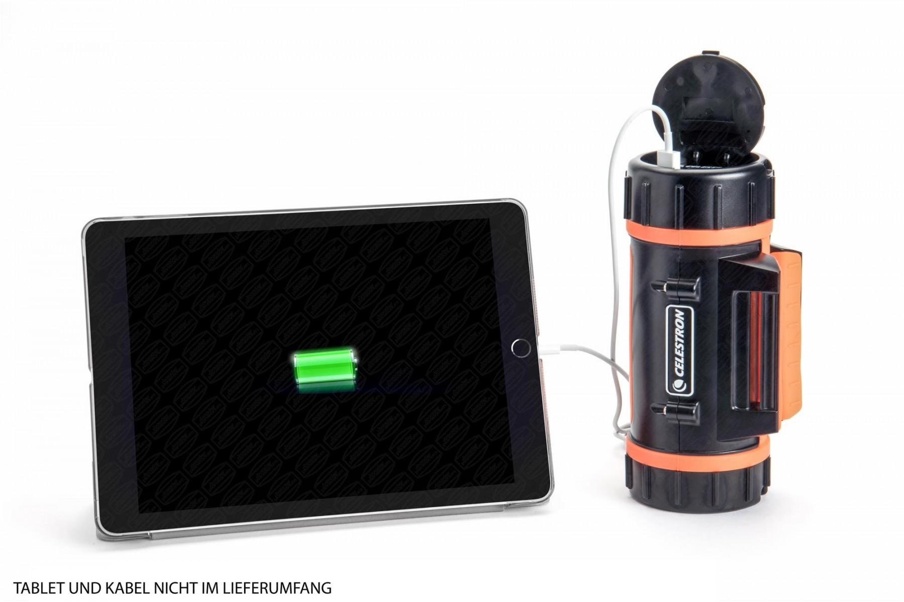 Anwendung: Tablet und Kabel nicht im Lieferumfang